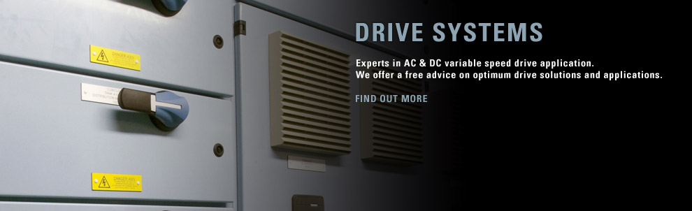 Experts in AC & DC variable speed drive application.  We offer a free advice on optimum drive solutions and applications.